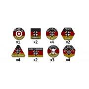 Team Yankee - German Token Set