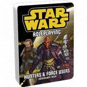 Star Wars : Hunters and Force Users Adversary Deck
