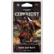 Warhammer 40,000 Conquest The Card Game : Slash and Burn