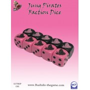 Bushido - Jung Pirate Faction Dice