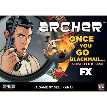 Love Letter - Archer : Once You Go Blackmail (Boîte)