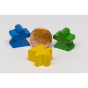 10 Women, Fairy, Angel, Meeple 16x16x10mm :