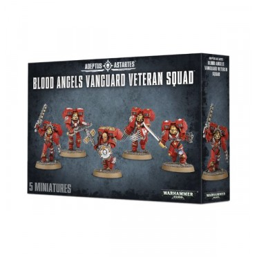 W40K : Adeptus Astartes - Blood Angels Vanguard Veteran Squad