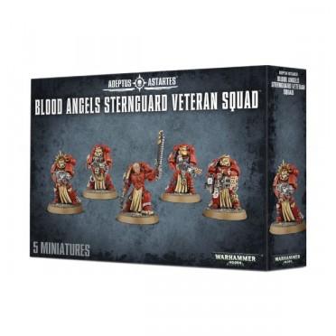 W40K : Adeptus Astartes - Blood Angels Sternguard Veteran Squad