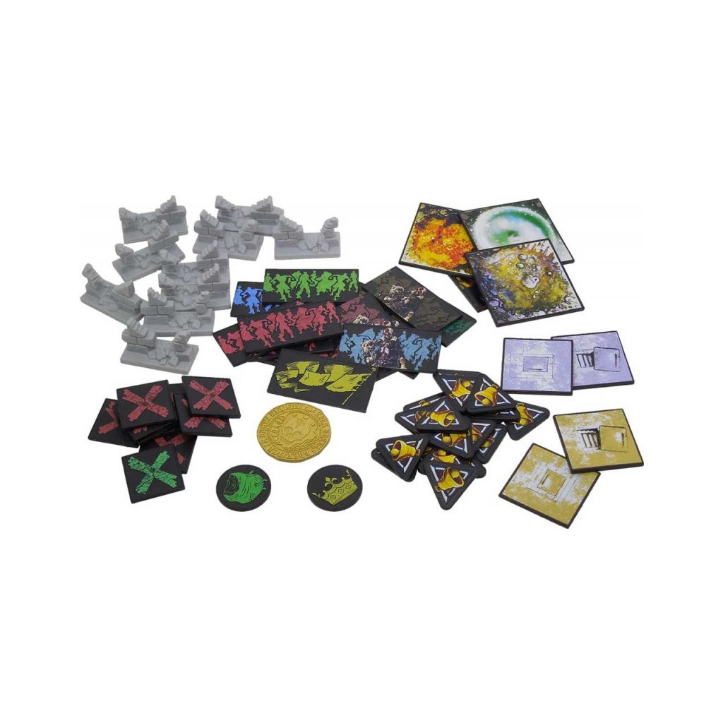 Zombicide black plague plastic tokens boutique philibert for Porte zombicide