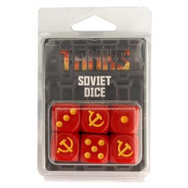 Tanks - Soviet Dice Set