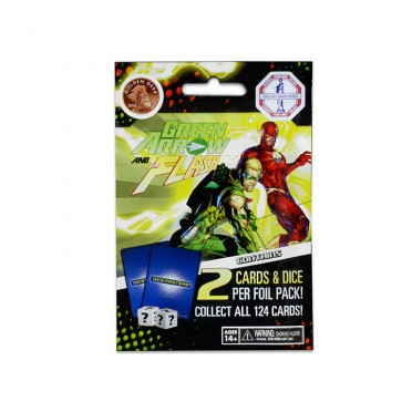 Dice Masters (Anglais) - Green Arrow and The Flash : Booster