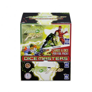Dice Masters (Anglais) - Green Arrow and The Flash : Boite de 90 Boosters