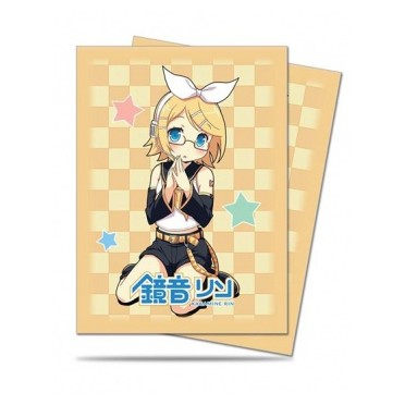 50 Deck Protector Megane Collection - Kagamine Rin