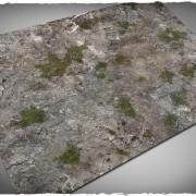 Terrain Mat PVC - Medieval Ruins - 120x180