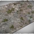 Terrain Mat PVC - Medieval Ruins - 120x180 0