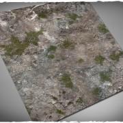 Terrain Mat Cloth - Medieval Ruins - 120x120