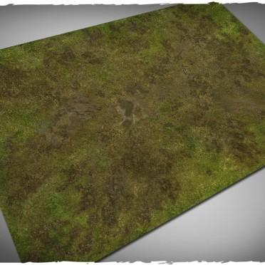 Terrain Mat PVC - Muddy Field - 120x180