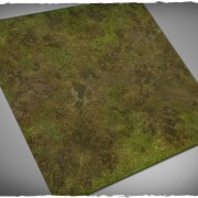 Terrain Mat Cloth - Muddy Field - 120x120