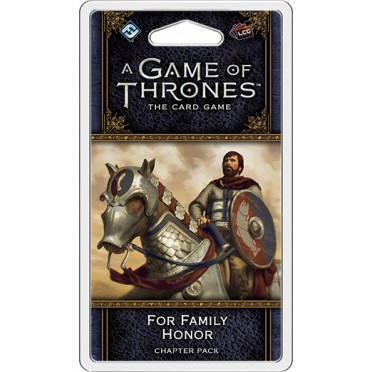 A Game of Thrones: The Card Game - For Family Honor Chapter Pack