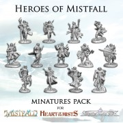 Heroes of Mistfall - Miniatures Pack