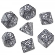Classic Dice Set - Smoky-White