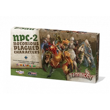Zombicide : Black Plague - Notorious Plagued Characters n° 2