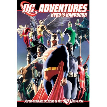 DC Adventures : Hero's Handbook