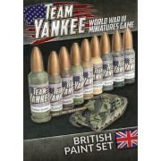 Team Yankee - British Paint Set