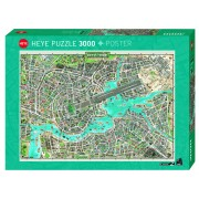 Puzzle - City of Pop - 3000 Pièces
