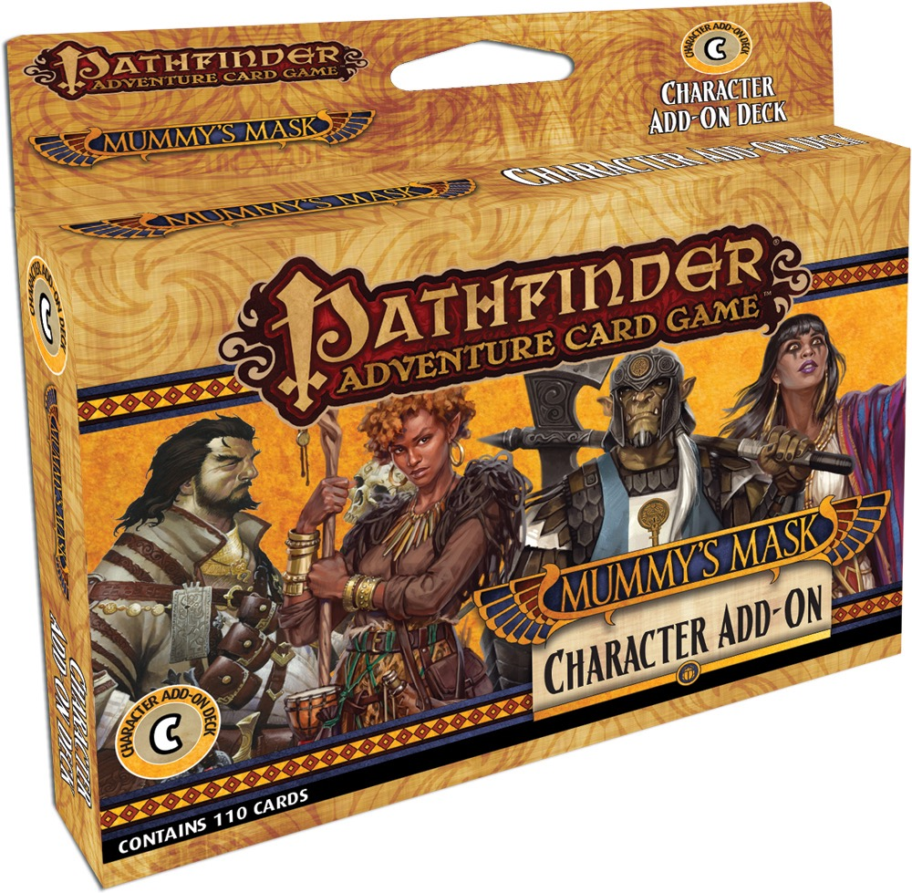 pathfinder adventure card game mummy s mask character add on deck