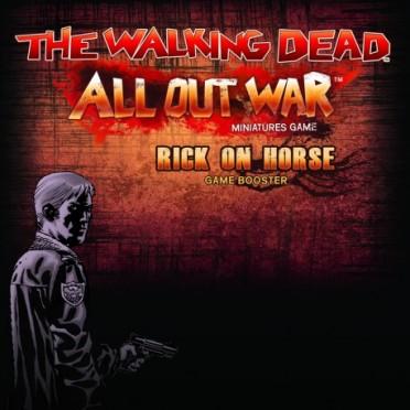 The Walking Dead : AOW - Rick à cheval