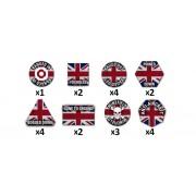 Team Yankee - British Token Set