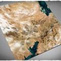 Terrain Mat Mousepad - Orbital Dunes - 120x120 0