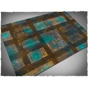 Terrain Mat Mousepad - Night Cityscape - 120x180