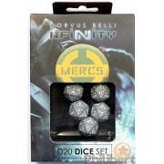 Infinity - Mercenaries D20 Dice Set