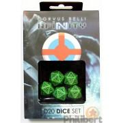 Infinity - Ariadna D20 Dice Set