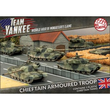 Team Yankee - Chieftan Armoured Troop