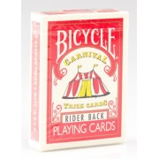 Bicycle : Carnival Trick Cards - Rider Back