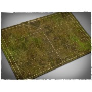 Terrain Mat PVC - Fantasy Football Game Mat - Muddy Fields - 55x92