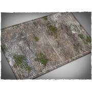 Terrain Mat Mousepad - Fantasy Football Game Mat - Medieval Ruins - 55x92