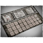 Terrain Mat Mousepad - Fantasy Football Game Mat - Dugout - 25x46