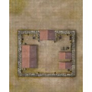Savage Worlds - Weird Wars Rome : Map Frontier Fortress / Village