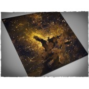 Terrain Mat Mousepad - Orbital Night Coast - 120x120