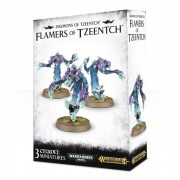 Age of Sigmar : Chaos - Deamons of Tzeentch Flamers