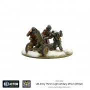 Bolt Action - US Army 75mm Light Artillery M1A1 (Winter)