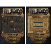 Savage Worlds : Rippers Resurrected - Map 2 Urban Alleys/Ancient Tombs