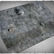 Terrain Mat PVC - City Ruins - 120x120