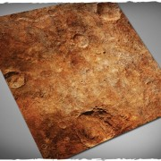 Terrain Mat Mousepad - Red Planet - 120x120