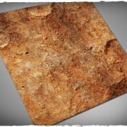 Terrain Mat Mousepad - Red Planet - 90x90