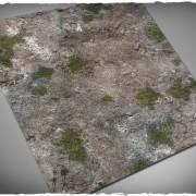 Terrain Mat Mousepad - Medieval Ruins - 90x90