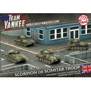Team Yankee - Scorpion or Scimitar Troop