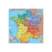 Puzzle - Carte de France des Départements