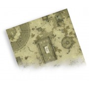 Playmat - Set B Ancient City - 90 x 90