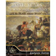 Nine Years: War of the Grand Alliance 1688-1697 pas cher